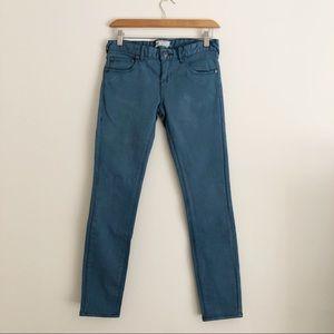 Free People Indigo Blue Skinny Jeans sz 26 ✨